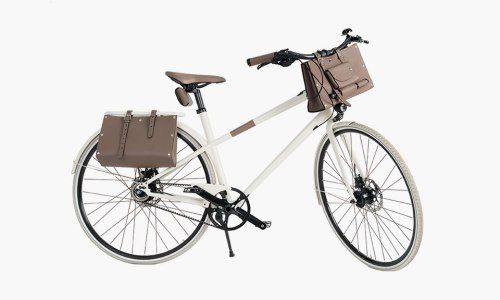 Hermes Bicycle And Bag 0