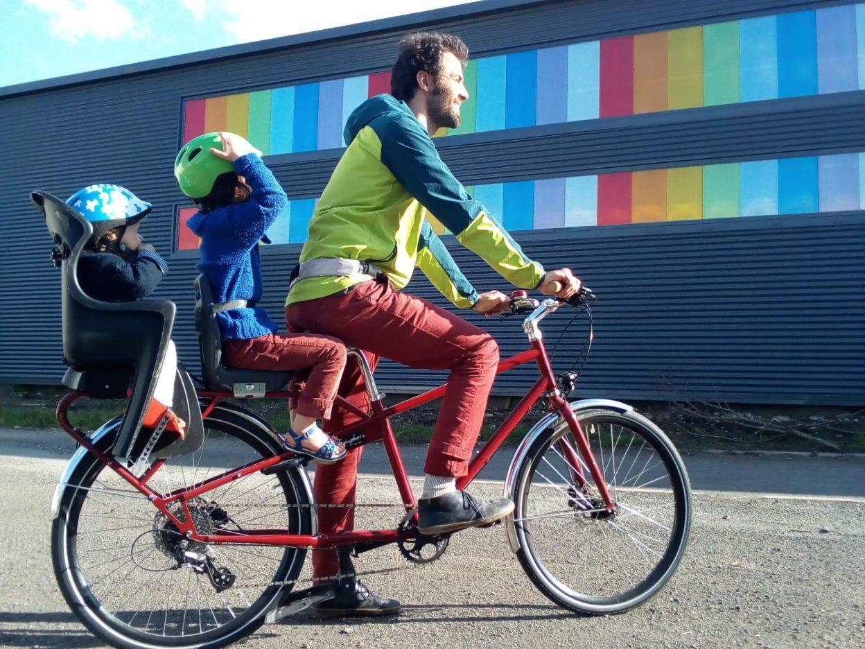 Semaphore, le vélo cargo longtail auvergnat