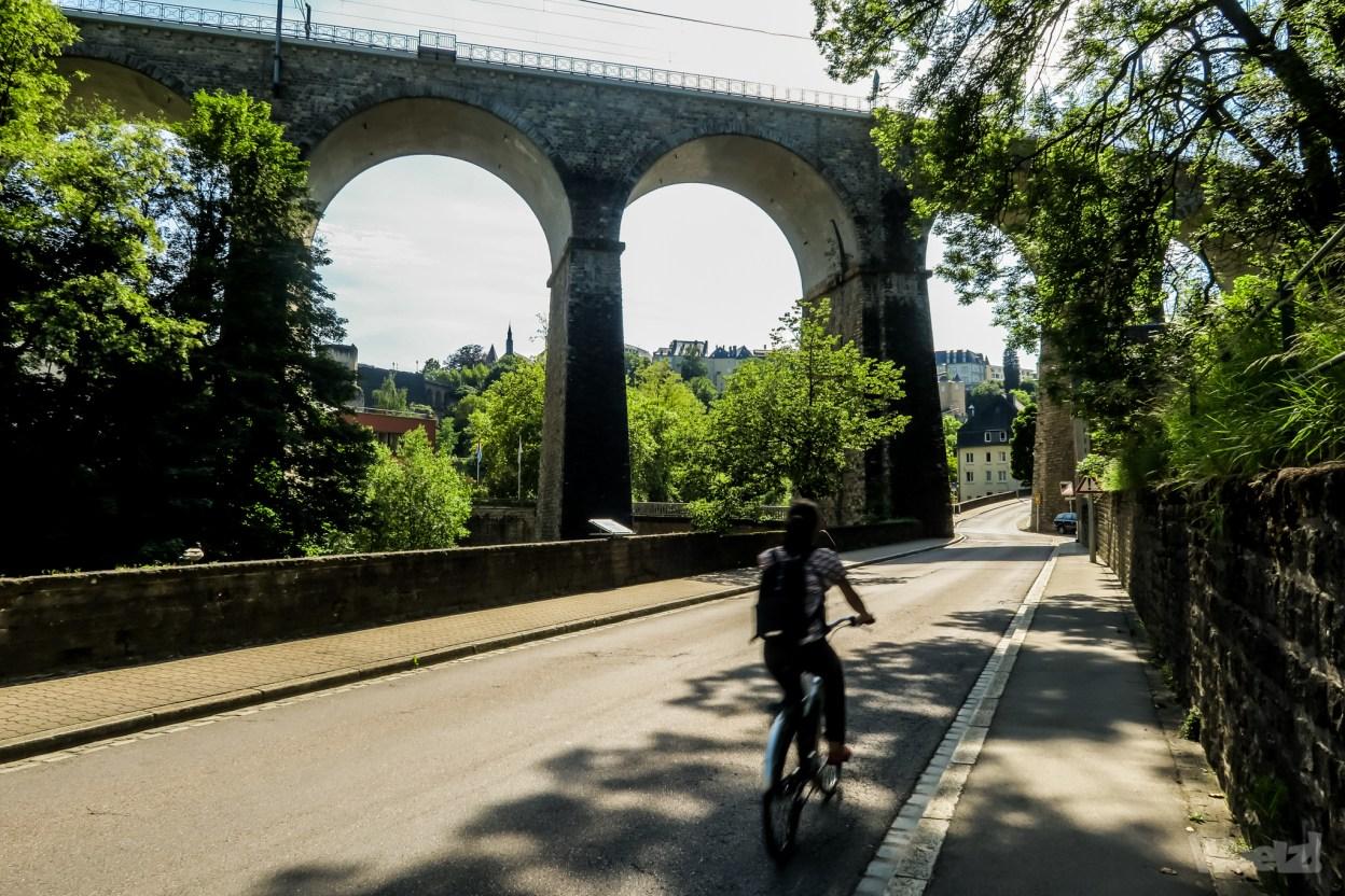 City break, une visite à vélo de Luxembourg Ville