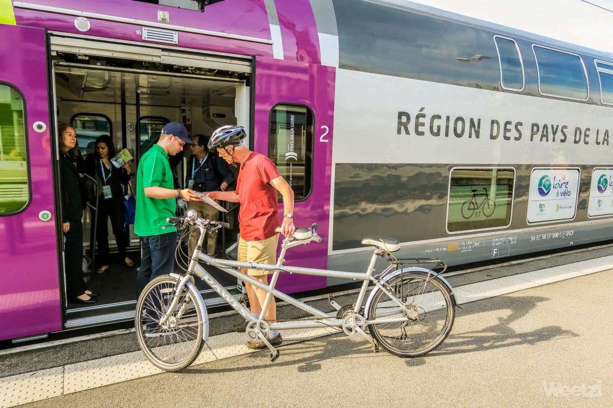 TER option Jumbo Vélo, les Pays de la Loire investissent dans le vélo tourisme