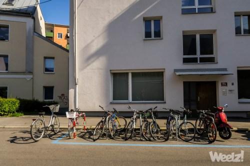 Weelz Visite Innsbruck Autriche Ville Velo Cyclable 2018 0580