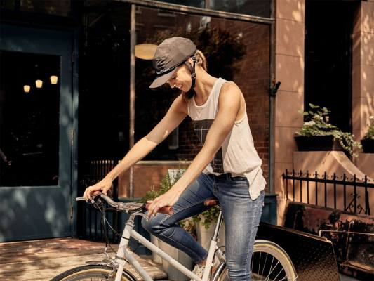 Park & Diamond, le casque vélo pliable ultra light