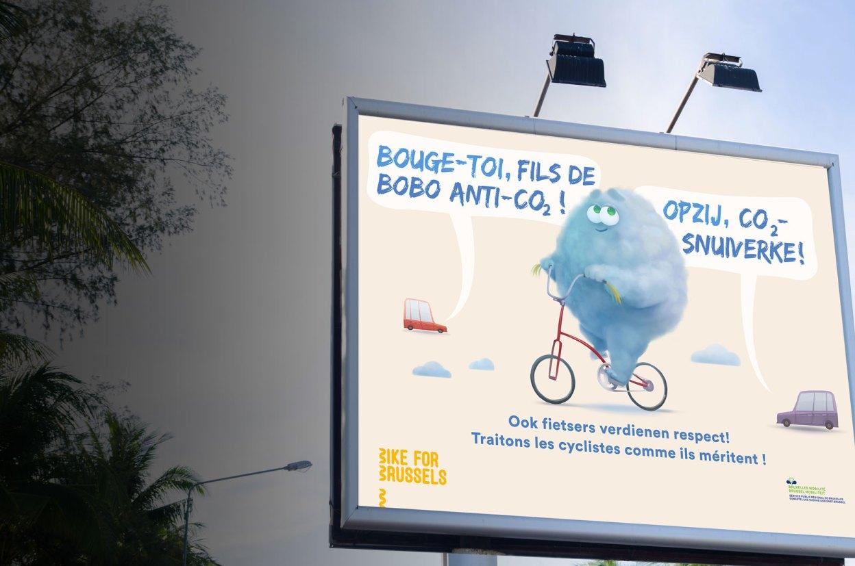 Bruxelles Mobilité : Insultons les cyclistes !