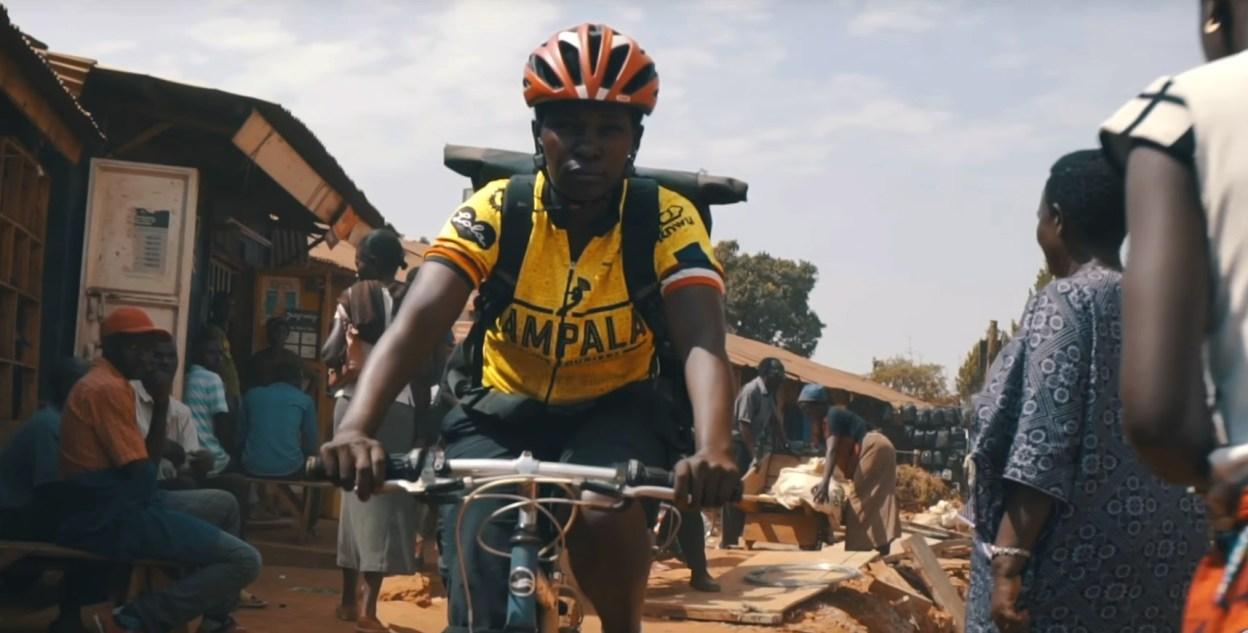 Marion promeut la pratique du vélo en Ouganda