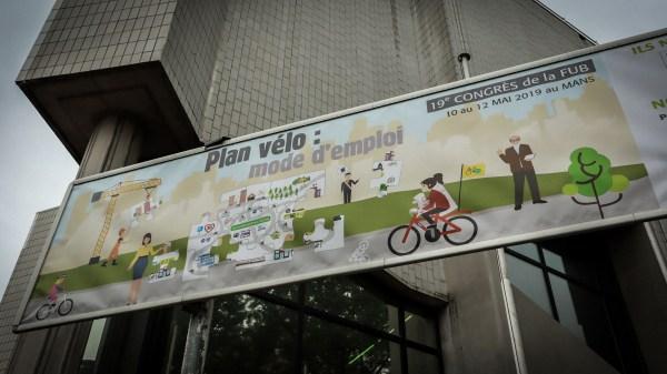 Congrès FUB 2019 au Mans, le vélo vient de changer d'ère