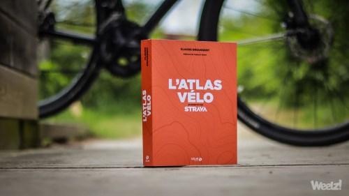 Weelz Livre Lecture Atlas Velo Strava Claude Droussent 2019 6249