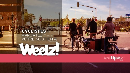 Weelz Mag Velo Promo Campagne Tipeee Cover