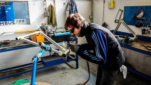 Weelz Visite Fabricant Velo Cadreur Artisan Cyfac Meral La Fuye 51 2