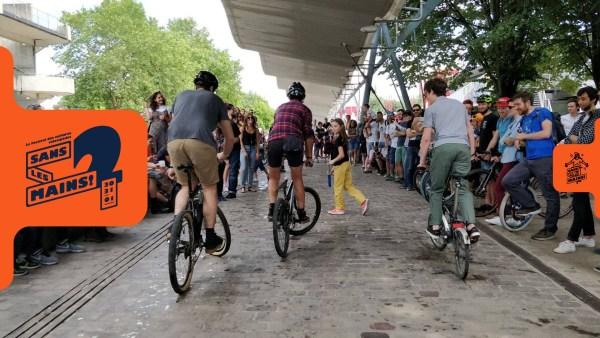Le festival vélo Sans les Mains #2, c'est ce weekend