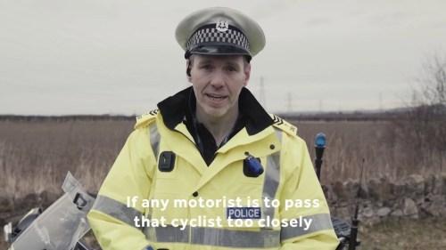 Un Radar à Distance De Dépassement Vélo Testé Au Canada