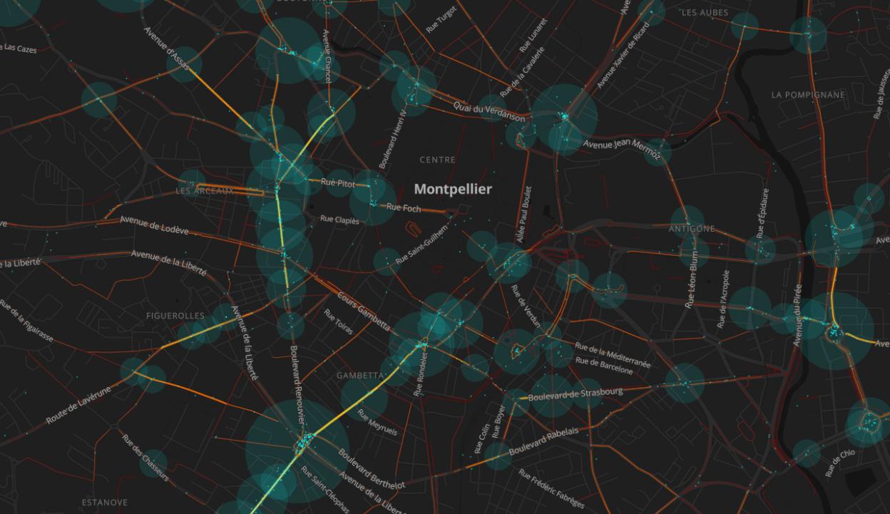 Baromètre vélo FUB 2019, une cartographie des points noirs vélo en France