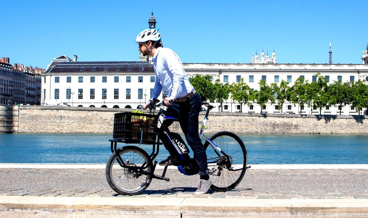 Joker Bike, un kit pour transformer son vélo en biporteur