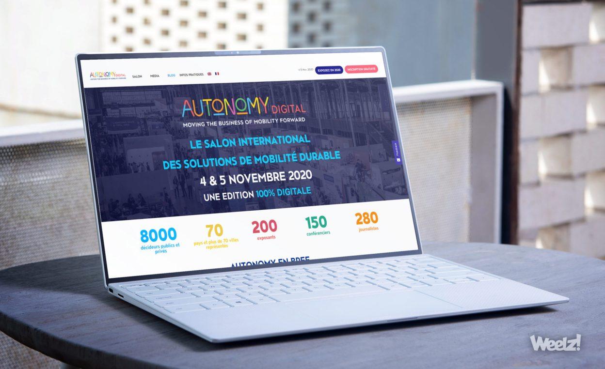 Autonomy 2020, un salon digital pour traiter du réel de la mobilité