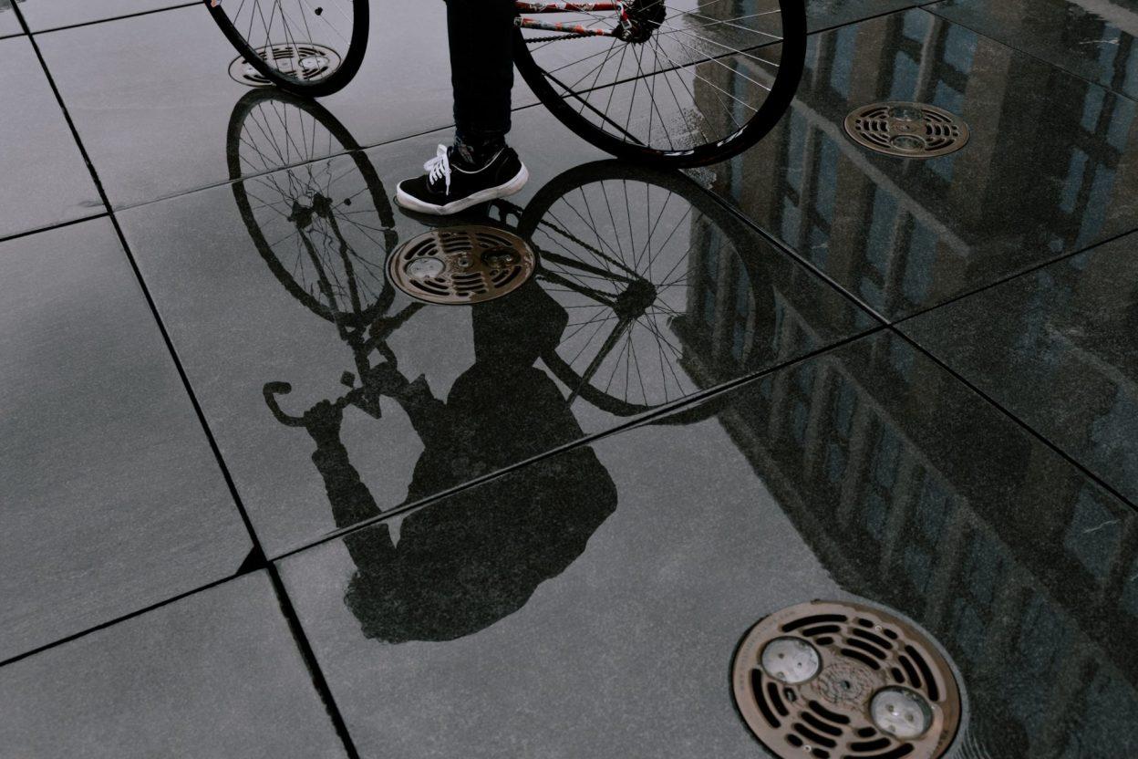 Veste - Soyez étanche à vélo [Calendrier de l'avent vélo 2020]
