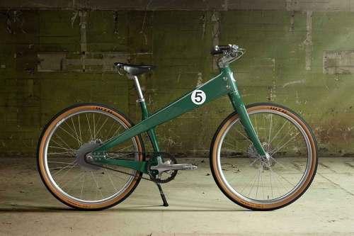 Coleen Aston Martin E Bike 1