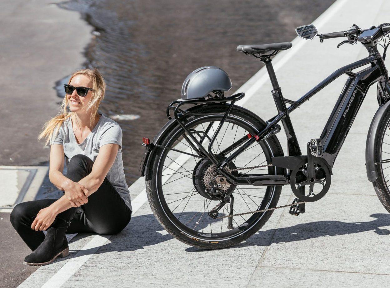 FLYER, c'est l'histoire d'un vélo électrique suisse...