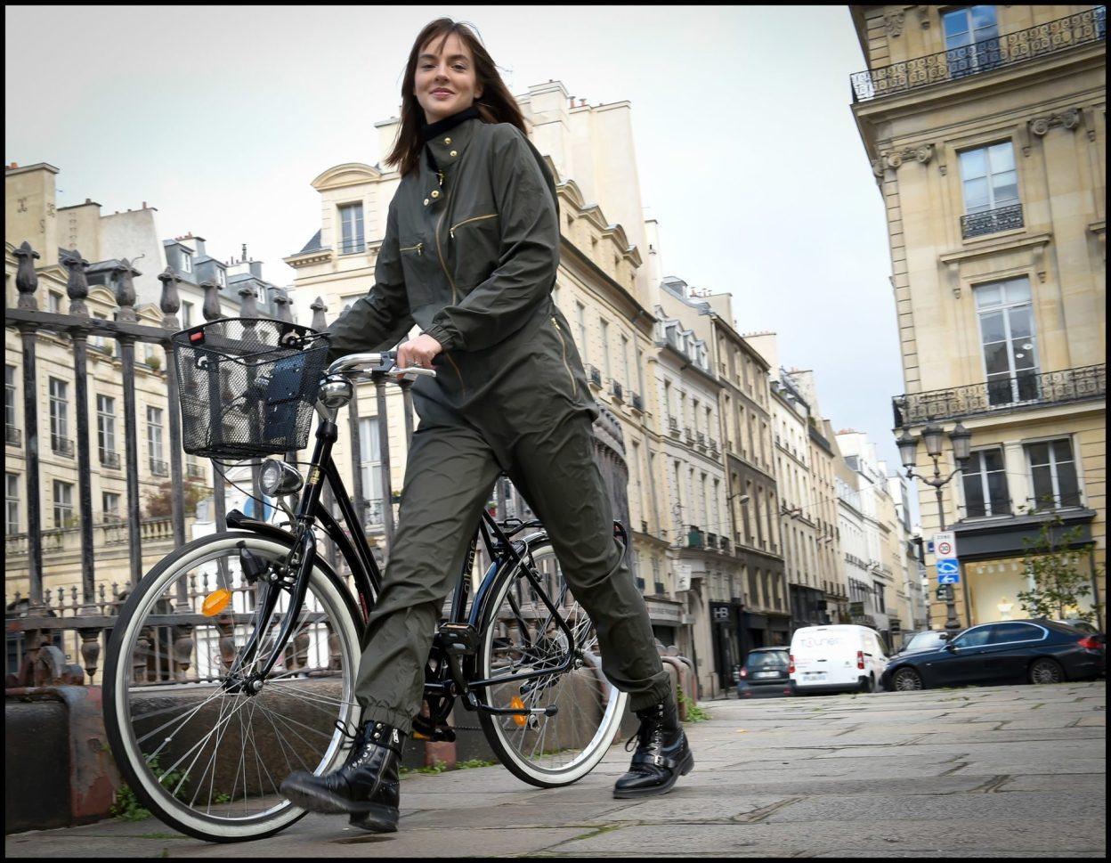 Look the rain, la combi workwear anti-pluie pour vos trajets à vélo