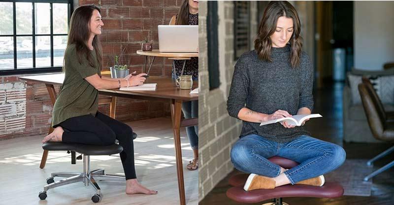 Essa empresa lançou uma cadeira para pessoas que gostam de sentar em cima das pernas | We Fashion Trends