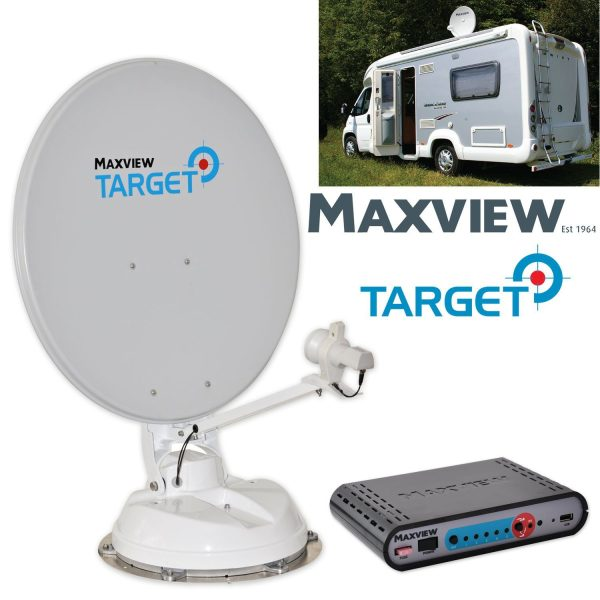 Maxview Target Satellite Fully Automatic 85cm - 3