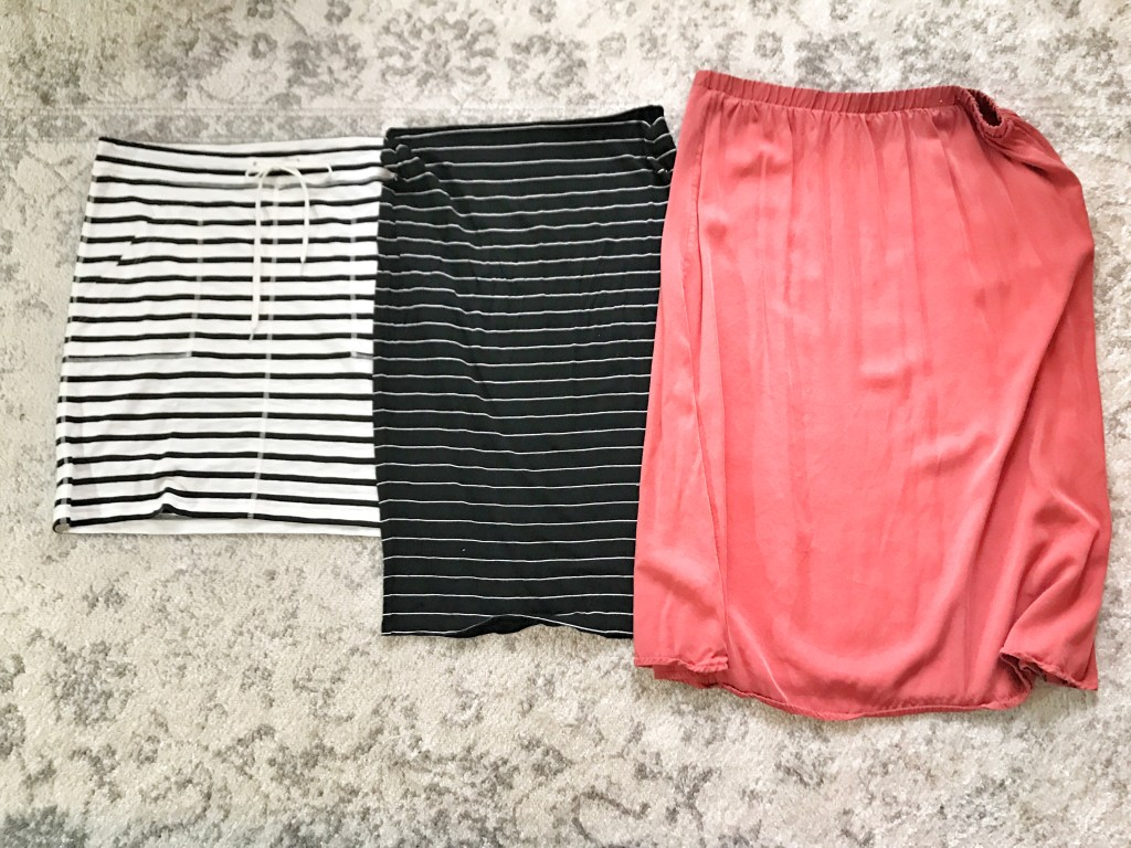 Capsule Wardrobe How to Get Started: Skirts