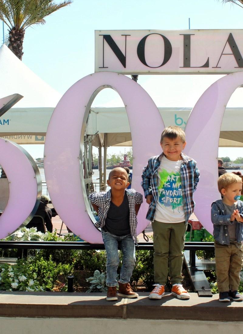 Family Fun: French Quarter Festival
