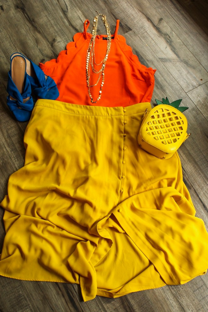 Orange and yellow  - 6 bright color combos for summer