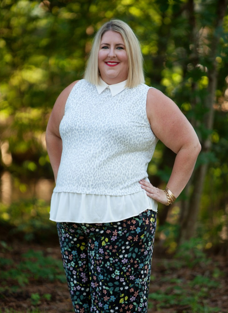Styling Your Summer Floral Pants for Fall