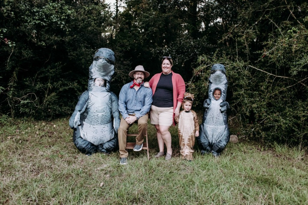 King Family Jurassic Park Photo Shoot
