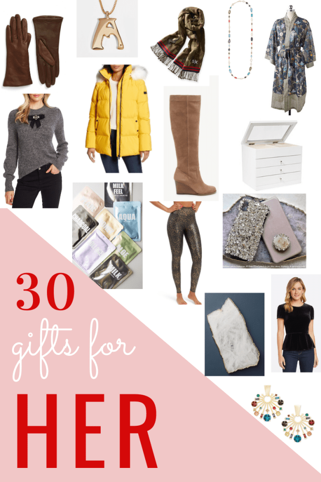 30 gifts for women