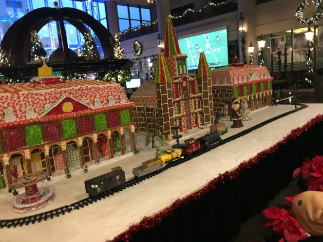 Sheridan New Orleans Gingerbread house