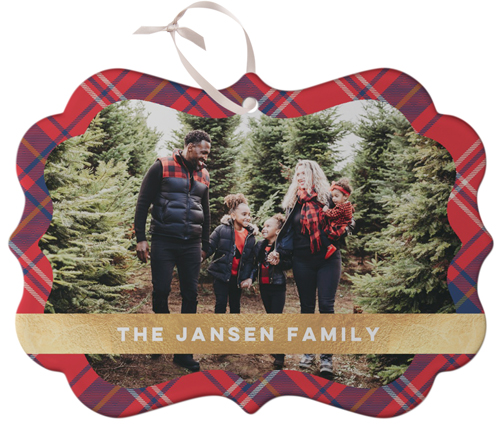 Shutterfly personalized ornament