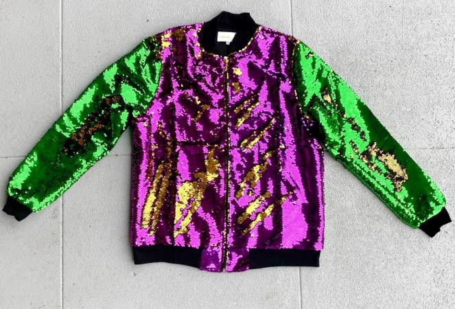 Fleurty Girl Sequin Jacket