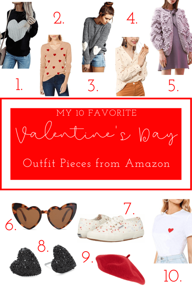 My 10 Favorite Valentine's Day Outfit Pieces from Amazon