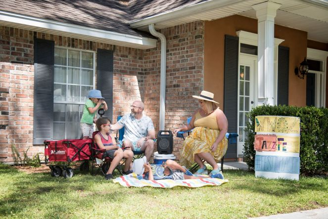 Family Festing in Place Staycation Idea