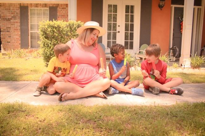Tiffany and the boys