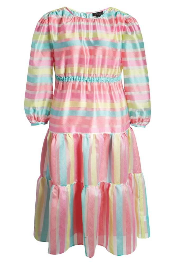 Nordstrom - Halogen Tiered Organza Dress
