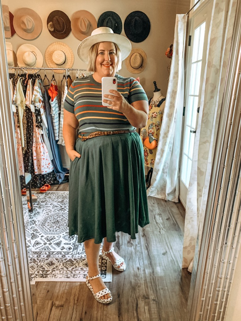How to style a skirt three ways - Complete Outfit