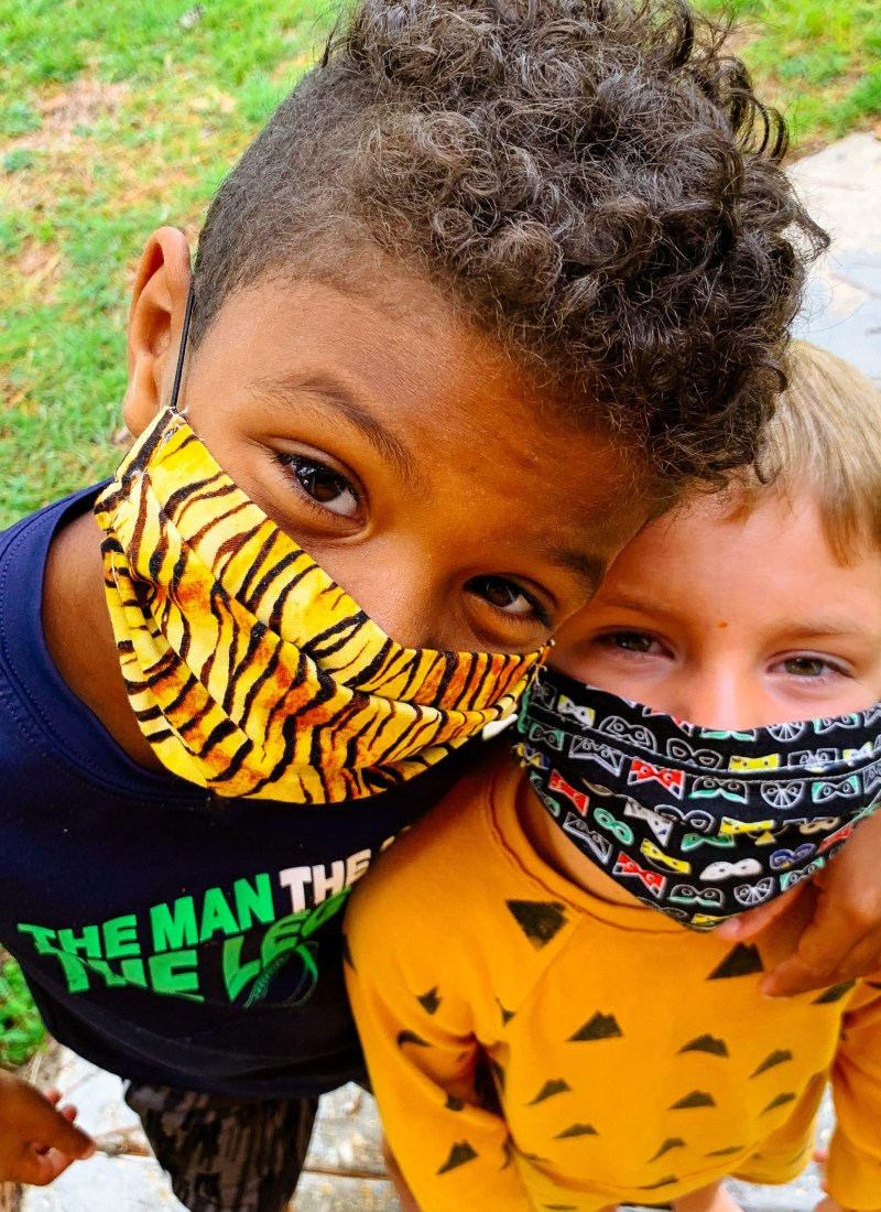 Finding the Right Masks for Kids
