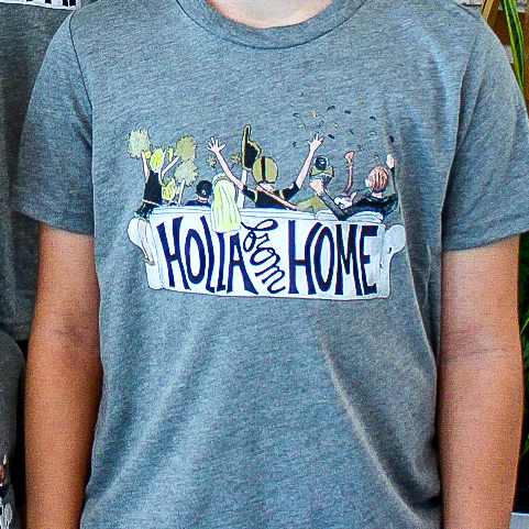 Holla From Home Shirt Two Sprouts // Fleurty Girl