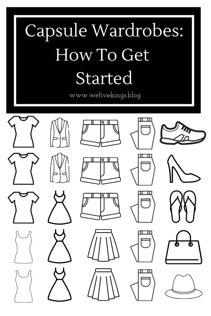 Capsule Wardrobes: Hot To Get Started