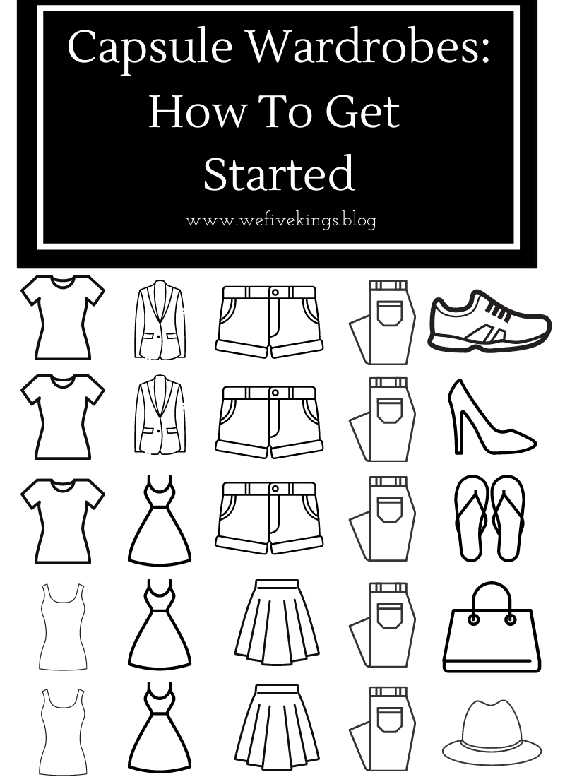 Capsule Wardrobes: How To Get Started