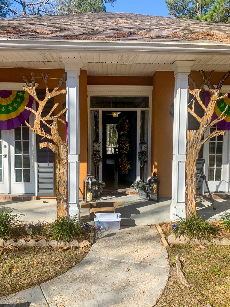 Installing the bead trees