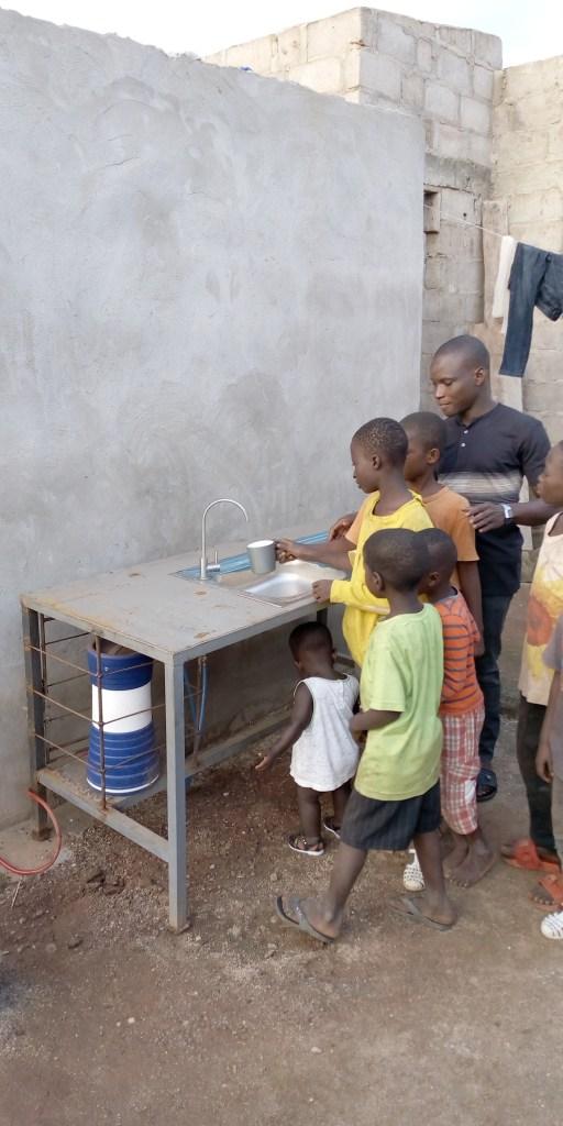 kostenloses sauberes Trinkwasser - keineswegs selbstverständlich