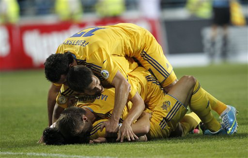 Ukraine got a huge win to revive their World Cup hopes