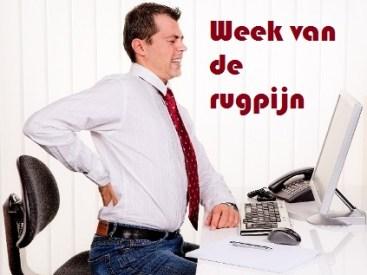 week van de rugpijn