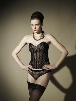 d5800a75e2 Lily Aldridge  Victoria s Secret Bridal Lingerie  11 Look Book   We ...