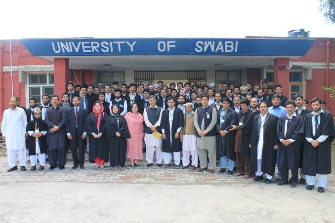 University Of Swabi Accounce M.A MSC Admission
