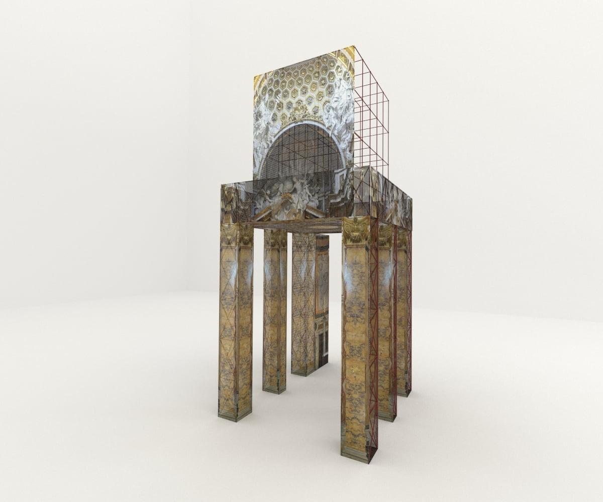 Il modello 3D che è stato Aggiunto nell' immagine finale