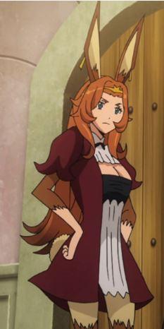 she has fur zetai ryoukai, if that's your thing