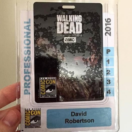 It says Professional and everything. Also normally I would be bummed about The Walking Dead, but when your image is a troll for your own fans, I am in.